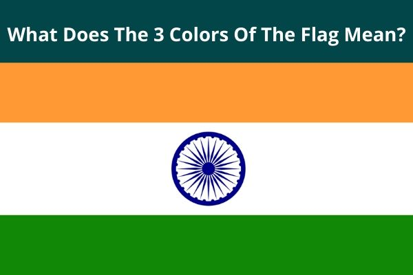 What Does The 3 Colors Of The Flag Mean?